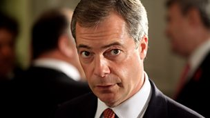 Image for Nigel Farage: 'We've changed the national debate'