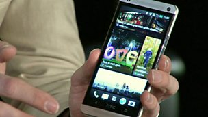 Image for Hands on with HTC's new flagship phone