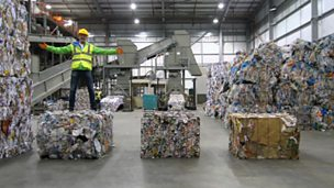 Using maths to recycle rubbish