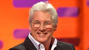 Image for Richard Gere gets recognised in unlikely places