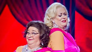 "Image for Kim Woodburn & Rosemary Shrager perform ""Diamonds are a Girl's Best Friend"""