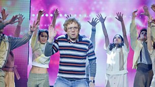 "Image for Jon Culshaw performs ""Praise You"""