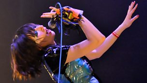 Image for Yeah Yeah Yeahs' Karen O chats to Huw Stephens