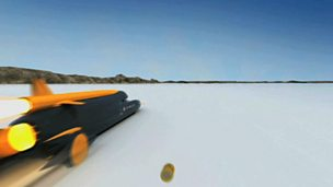 Image for Is Bloodhound SSC a car, a boat or a plane?