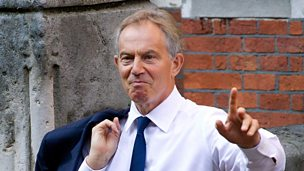 Image for Tony Blair on Iraq intervention