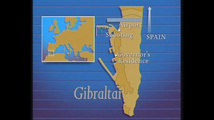 Image for IRA members shot in Gibraltar