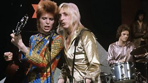 Image for Bowie on Top of the Pops in 1972 -