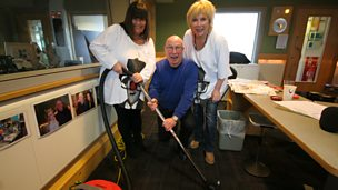 Image for French and Saunders interupt Ken Bruce