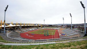 Image for Jessica Ennis on the Don Valley Stadium