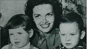 Image for Jane Russell's son returns to his home of Derry