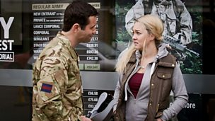 Image for Molly enquires about joining the Army