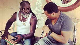 Image for Freddie McGregor catches up with Robbo Ranx