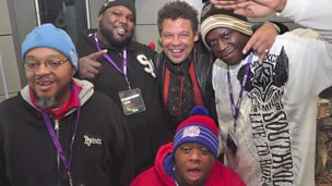 Image for Behind the scenes at the Craig Charles Funk and Soul Show