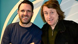 Image for Milton Jones joins Shaun Keaveny in the studio