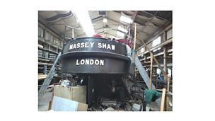Image for Fireboat Massey Shaw set to return to London