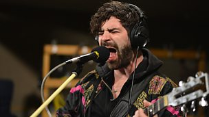Image for Yannis from Foals chats to Phil and Alice