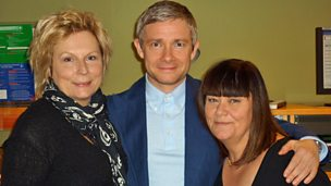 Image for Martin Freeman chats to French and Saunders