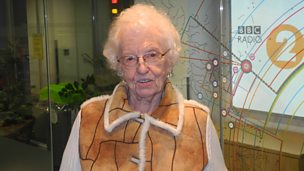 Image for 96 year old author Mollie Moran chats to Steve Wright