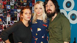 Image for Adam Green and Binki Shapiro chat to Lauren Laverne
