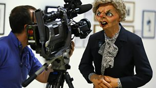 "Image for Spitting Image: ""Satire flourishes under strong government"""