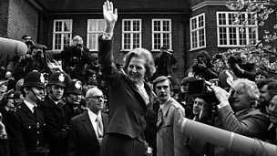 Image for Margaret Thatcher's career in politics