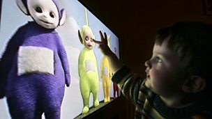 Image for Annette Karmiloff-Smith on toddlers and TV