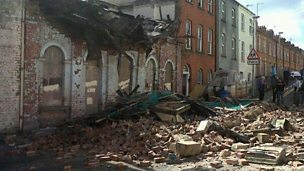 Image for William Jackson, hears building collapse.