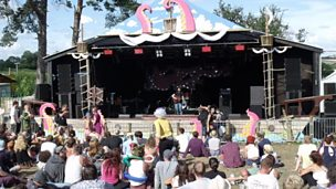 Image for Andy O'Hare reviews Artstar, Wooden Horse & Jake Bugg at Nozstock: The Hidden Valley near Bromyard.