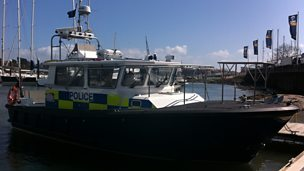Image for Hampshire Police Marine Unit part 1