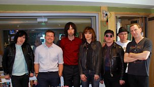 Image for Primal Scream chat with Dermot