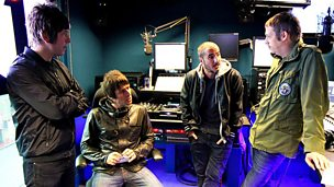 Image for Beady Eye join Zane Lowe in the studio