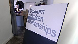 Image for Visiting the Museum of Broken Relationships