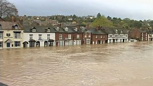 The causes and effects of river flooding in Britain
