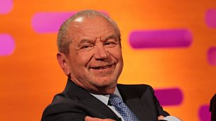 Image for Is Lord Sugar grumpy on Twitter?