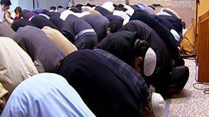 A Muslim boy's Eid-ul-Fitr