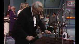 Image for Patrick Moore plays the xylophone on Appeal Night 1983