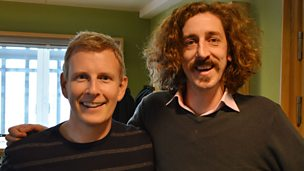 "Image for Tom Wrigglesworth and Patrick Kielty: ""Dance, Monkey Boy, dance.."""