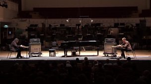 Image for Oren Ambarchi and Stephen O'Malley perform Criss Cross by Alvin Lucier