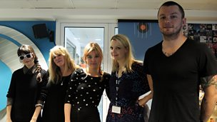 Image for Bleached live in session for Lauren Laverne