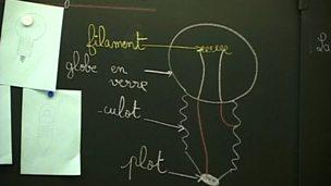 English children visit a French school (pt 3/4)