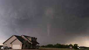 Image for A giant tornado devastates parts of Oklahoma City
