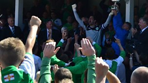 Image for Guernsey win the Muratti Vase final