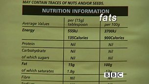 The importance of fat in our diet