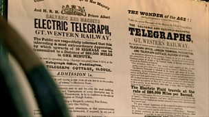 The invention of the telegraph by Cooke and Wheatstone