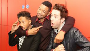 Image for Will & Jaden Smith With Nick Grimshaw
