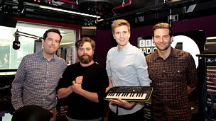 Image for The Hangover III cast sing to Greg James