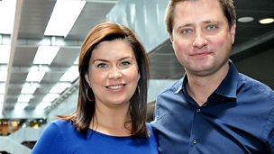 Image for George Clarke and Amanda Lamb: Celebrity Interview