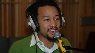 Image for John Legend chats to Steve Wright