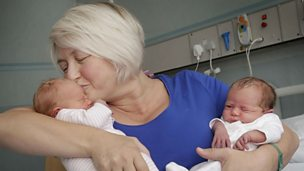 "Image for ""Over the moon…overwhelmed"": Scottish mum who just gave birth to her third set of twins."