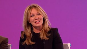 Image for Did Kirsty Young name her chickens after newsreaders?